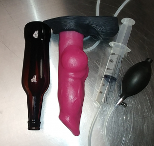 Inflatable Knot Dildo